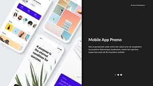 Minimalizm- Mobile App Promo | After Effects Project