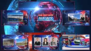 Breaking News 2 After Effects Project