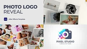Photo Logo Reveal After Effects Project