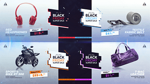 Sale, Product Promo   After Effects Project