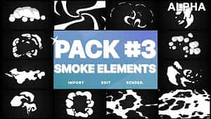 Smoke Elements Pack 03 | Motion Graphics Pack | After Effects Project