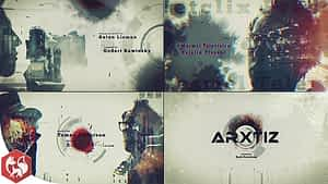 Double Exposure – Movie Opening   After Effects Project