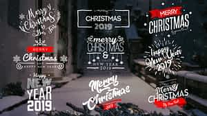 Christmas Titles | After Effects Project