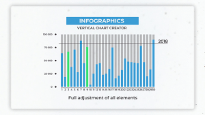 Infographics: Vertical Chart Creator | After Effects Project