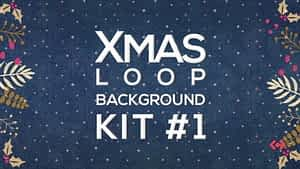Christmas Loop Background Kit 1 | After Effects Project