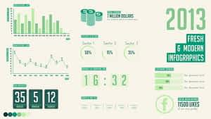 Fresh & Modern Infographics | After Effects Project