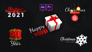 Christmas Motion Titles | After Effects Project