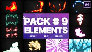 Flash FX Elements Pack 09   After Effects   After Effects Project