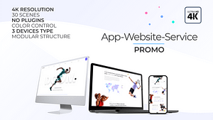 App | Website | Service Promo | After Effects Project