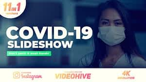 Coronavirus Covid-19 Slideshow After Effects Project