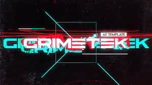 Grimetek Title Opener After Effects Project