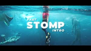 Stomp Intro After Effects Project