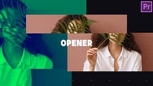 Fashion Trendy Opener After Effects Project