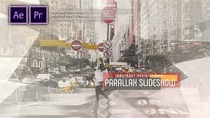Abstract Parallax Slideshow | Opener After Effects Project