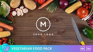 Vegetarian Food Pack | After Effects Project