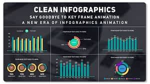Clean Infographics | After Effects Project