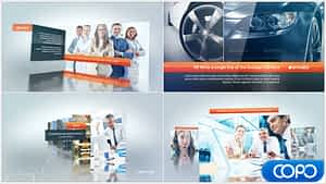 Complete Corporate Video Displays | After Effects Project