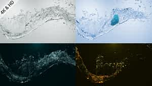 Crystal Water Logo After Effects Project