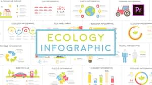 Eco Infographic | MOGRT | After Effects Project