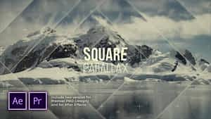 Flash Squares Parallax Introduction After Effects Project