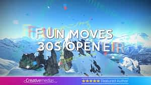 Fun Moves 30s Opener – After Effects Template After Effects Project