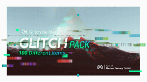 Glitch Pro | Essential Glitch Effects Pack | After Effects Project