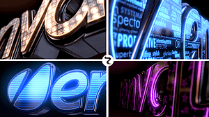 LED Logo After Effects Project