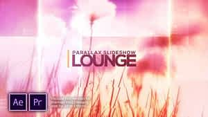 Lounge Parallax Slideshow After Effects Project