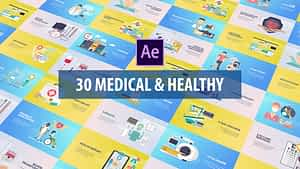 Medical and Healthy Animation | After Effects | After Effects Project