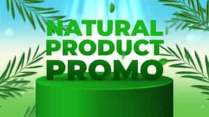 Natural Product Promo | After Effects Project