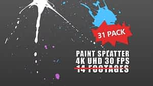 Paint Splatter | After Effects Project