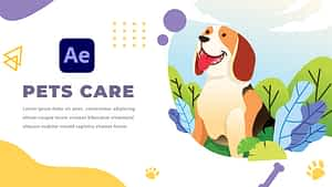 Pets Care and Veterinarian   After Effects   After Effects Project
