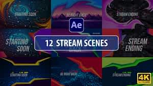 Stream Scenes | After Effects | After Effects Project