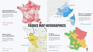 France Map Infographics | After Effects Project