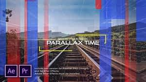 The Time Industry Parallax Slideshow After Effects Project