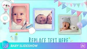 Baby Slideshow | After Effects Project