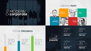 Modern Corporate | After Effects Project