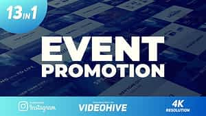 For the Event Promo | After Effects Project