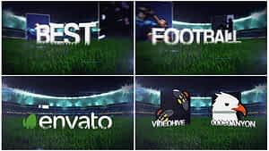 Football Soccer Field Opener After Effects Project