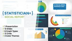 Statistician Plus – Social Report | After Effects Project