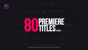 Clean Titles Package   Essential Graphics   After Effects Project