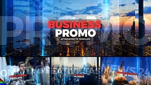 Business Promo After Effects Project