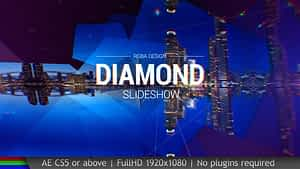 Slideshow Diamond | After Effects Project