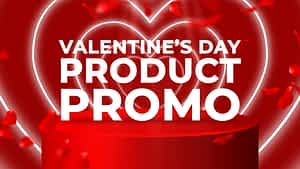 Valentines Day Product Promo   After Effects Project