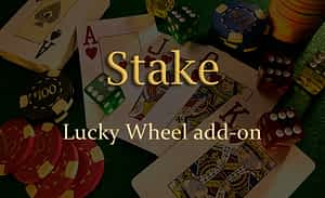 Lucky Wheel Add-on for Stake Casino Gaming Platform