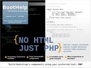 BootHelp – PHP Helpers for Bootstrap