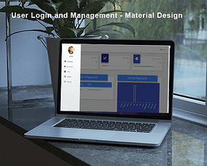 Codeigniter User Login and authentication – Material Design