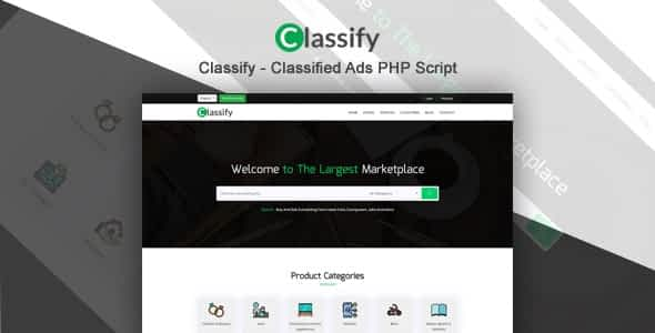 Classify - Classified Ads PHP Script