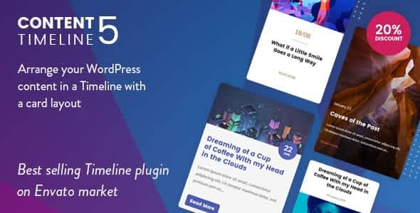 Content Timeline - Responsive WordPress Plugin for Displaying Posts/Categories in a Sliding Timeline