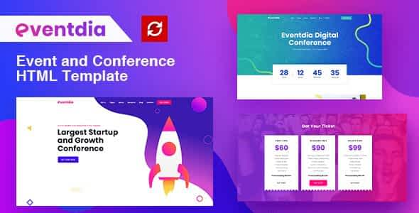 Eventdia - Event and Conference HTML Template